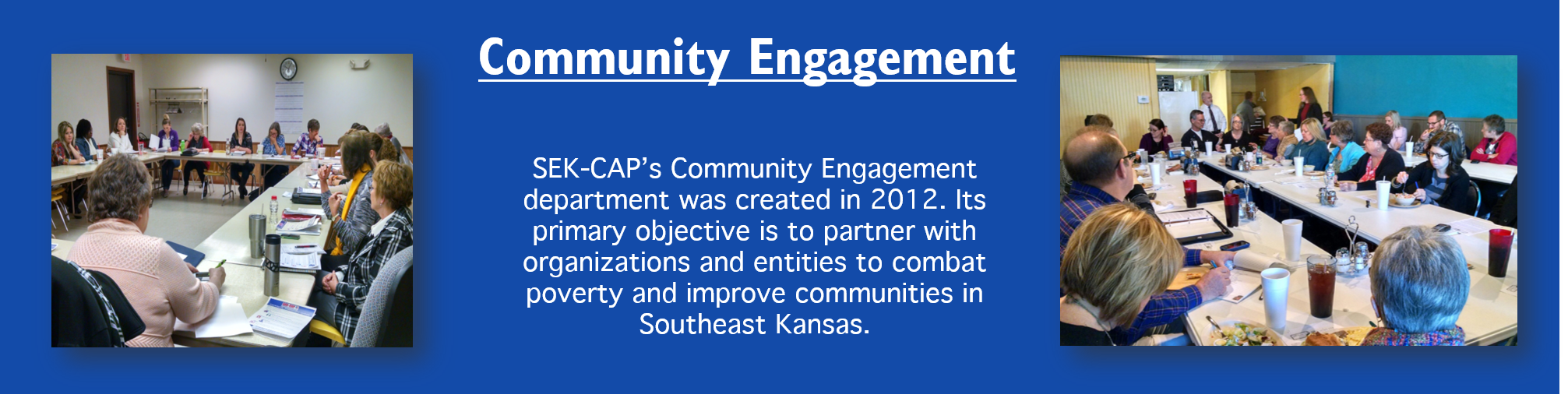 Community Engagement Header