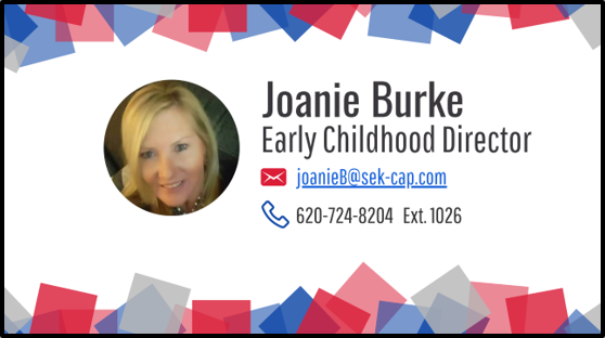 Joanie Burke - SEKCAP Early Childhood Services Director