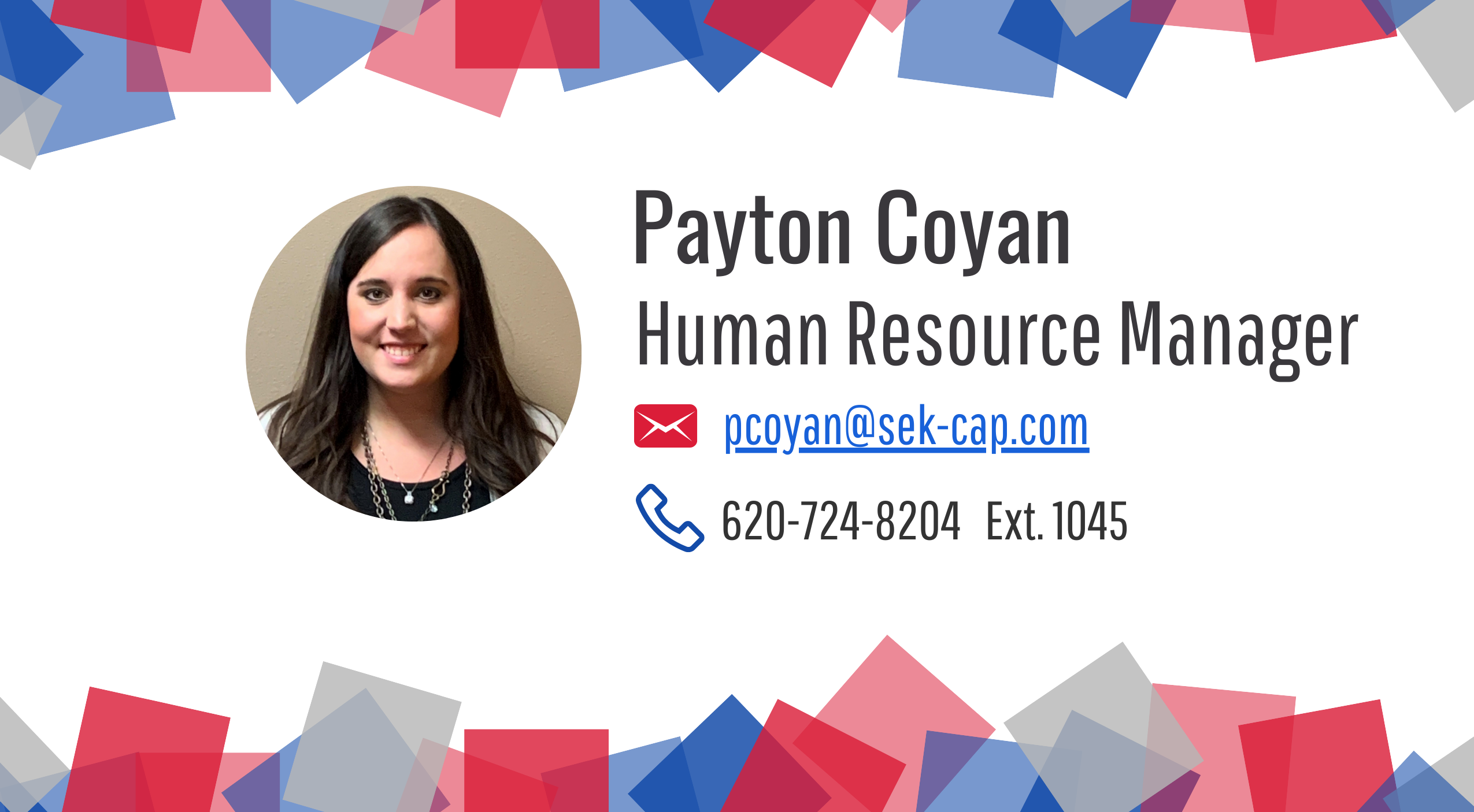 Payton Contact Card Website